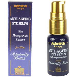 Men's Eye Serum Anti-Ageing Anti-Wrinkle Moisturising Cream For Him Admiral 15ml