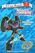 Transformers Animated: The Decepticons Invade! (I Can Read Book 2)