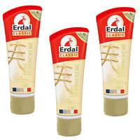 3x Erdal Classic Feine Schuhcreme mit pflegenden Ölen Alle Farben frischt auf
