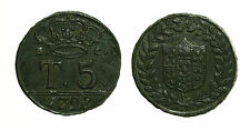 pci3245) Napoli Regno  Ferdinando IV - 5 Tornesi 1798