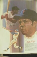 1979 Coca-Cola 18x24 Poster - Willie Mays San Francisco Giants HOF Outfielder