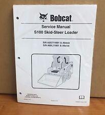 Bobcat S100 Skid Steer Loader Service Manual Shop Repair Book 6904926