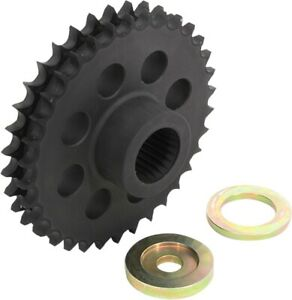 Sprocket Compensator 34T Black DrS. 1120-0390 For 07-17 HD Touring Softail Dyna