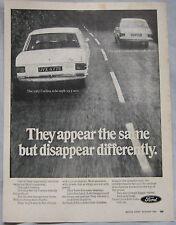 1967 Ford Cortina Original advert