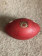"RARE GAME USED ""Tiger Eyes"" Auburn University Tigers Wilson CFP 1009 Football"