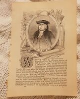 William Penn - 1847 Book Print
