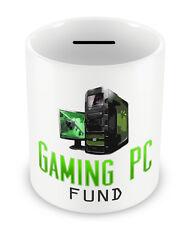 Gaming PC Fund Money Box - Gamers Piggy bank savings geek WASD cool gift #82