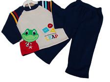 BNWOT  Boy  2 piece leap frog Jogging suit  sweat Top & pants BARGAIN SALE £7.99