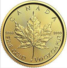 1/10 oz Maple Leaf Gold 2017 zehntel Unze Goldmünze Royal Canadian Mint 9999