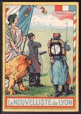 Calendrier Le Nouvelliste de Lyon. 1914. Aviation