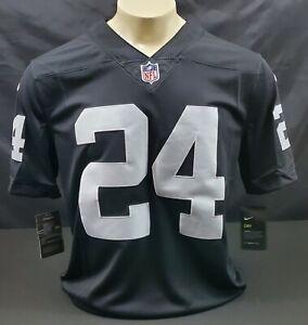 Nike Las Vegas Raiders Marshawn Lynch #24 Vapor Untouchable Jersey, Black, Sz M