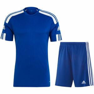 Adidas Fußball Squadra 21 Trikotset Trikot Shorts Herren royal blau