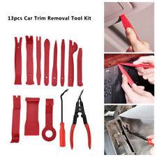 13pcs Pince Outil Kit de Demontage Mains Panneau de Porte Garniture Clip Outil
