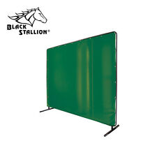 Revco Saf-Vu 14 mil. Translucent Vinyl Green 6' x 8' Welding Screen & Frame