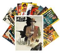 Postcards Pack [24 cards] Film Noir Vintage Hardboiled Movie Posters CC1004