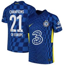 Chelsea Football Shirt Kids Nike Home Stadium Shirt - Champs of Europe 21 - New