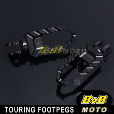 For Ducati Multistrada 1000 /DS All Year Black Touring CNC Front Foot peg