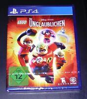 LEGO DIE UNGLAUBLICHEN FÜR PS4 SCHNELLER VERSAND NEU & OVP