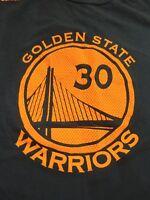 Golden State Warriors Stephen Curry Jersey T shirt, Men's large, Adidas