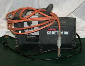 CRAFTSMAN 3/4 HP/100 PSI OIL-LESS AIR COMPRESSOR w/HOSE & TIRE CHUCK 919-150270