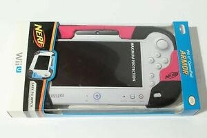 NERF Gamepad Armor Pink For Wii U Protective Cover, new in box Piink