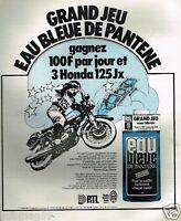 Publicité advertising 1975 Grand Jeu Pantène avec radio RTL et RMC