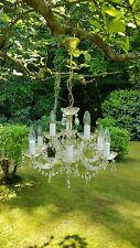 9 LAMP DROPLET MARIE ANTOINETTE STYLE CHANDELIER#18060305/8377