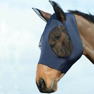 Roma Weatherbeeta Stretch Bug Eye Saver + Ears Stops Insects UV Rays Fly Mask