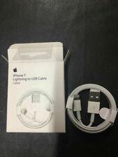 4 Original Oficial iPhone Xs/8/7/6S/6+/5S Cargador Cable Usb