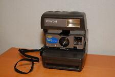 Vintage Polaroid One Step TALKING Film Camera w/ neck strap Tested Works