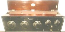 vintage * FREED EISEMANN NR-7 RADIO:  Untested w/ all 6 tubes  BAKELITE FRONT