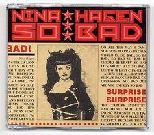 Nina Hagen Maxi-CD So Bad - German 3-track CD incl. Revolution Ballroom 862781-2