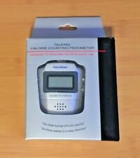 Voice Zone Talking Calorie Counting Pedometer - New with Instructions