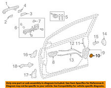 TOYOTA OEM FRONT DOOR-Lock Assembly Seal 6931847010