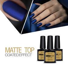 Azure Matte Top Coat UV/Led Soak Off Primer Gel Nail Polish Gel Matt Top Coat