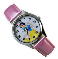 Disney Princess Snow White Wrist Quartz Fashion Child Girl Watch Xmas Gift