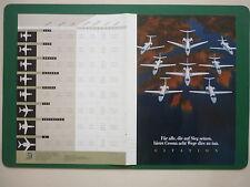 2000'S PUB DEPLIANT PUBLICITAIRE CESSNA CITATION GERMAN ADVERT