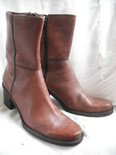 Parade Genuine Leather Boots 9 Tan Brown Shoes