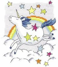 HERITAGE CRAFTS UNICORN COUNTED CROSS STITCH KIT KAREN CARTER COLLECTION NEW