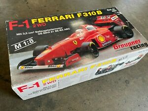 Vintage 1/8 Scale Graupner's The F1 FERRARI F310 B R/C Racing Car