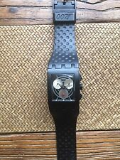 Rare James Bond Dr. NO 1962 007 2002 Swatch CHRONO SUEB-400 Watch Unisex