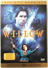 Dvd Willow - Edizione Speciale di Ron Howard con Val Kilmer 1988 Usato