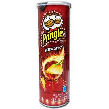 [Pringles] Hot & Spicy Potato Chips 110g(3.88oz) 1ea Korea Limited edition