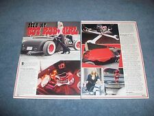 "1930 Ford Hot Rod Custom Roadster Article ""She's My Hot Rod Girl"""