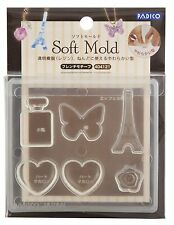 PADICO Soft Mold UV Resin & Clay French Motif