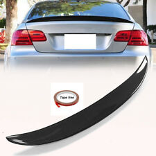 Carbon Fiber High Kick Trunk Spoiler For BMW E92 Coupe 328i 335i M3 Wing Lip CF