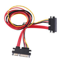 22pin Slimline SATA and Power Combo Extension Cable M/F - 20inch