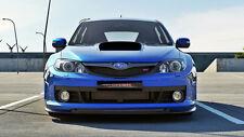 Spoilerlippe für Subaru Impreza WRX STI Bj. 09-11 Frontspoiler Schwert Carbon