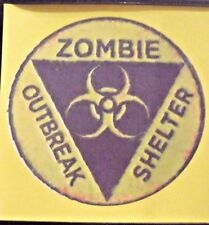 ZOMBIE safety zone - Walking Dead - Cult classics - Fun Gift - Drink coaster