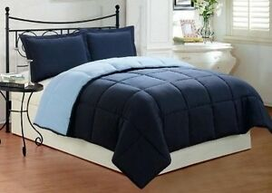 Ultra Soft Goose Down Alternative Reversible Comforter - Available in all sizes